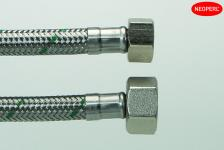 dn8 neoflexspx vand varmt koldt flet rustfri l 8 3 x l 2 1 mm 300 tilslutningsslange softpex neoperl