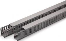 7030 ral slidser 4mm med 80x100mm ledningskanal