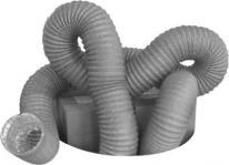 5000 l stålspiral på aluminiumsfolie pvc-belagt flexslange flex-125
