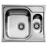 Image of   Juvel universal køkkenvask 580x500mm med strainer. UNI150