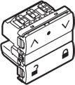 Image of   LK IHC® Wireless jalousi afbryder m/lås hvid