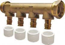 4 3 x mm 15 afgreninger 4 fordelerrør dr easy quick uponor