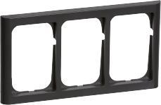 koksgrå tripel vandret modul 5 1 63 ramme softline fuga