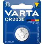 Lithium Knapcelle Batteri Cr2025 3 V 1-Bobler