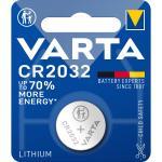 Lithium Knapcelle Batteri Cr2032 3 V 1-Bobler