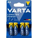Alkaline Batteri Aa 1.5 V High Energy 4-Bobler