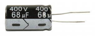 vdc 400 uf 68 kondensator elektrolytisk