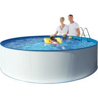 runde pools stål